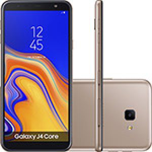 "Smartphone Samsung Galaxy J4 Core 16GB Nano Chip Android Tela 6"" Quad-Core 1.4GHz 4G Câmera 8MP - Cobre"