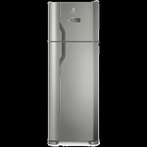Geladeira/Refrigerador Frost Free cor Inox 310L Electrolux (TF39S)