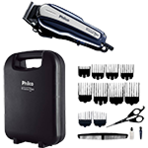 Máquina de Cortar Cabelo Philco Titanium Pro PCR01 - Preta
