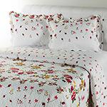 Colcha Queen Boutis Camélia com 2 Porta Travesseiros - Casa & Conforto