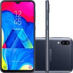 "Smartphone Samsung Galaxy M10 32GB Dual Chip Android 9.0 Tela 6,2"" Octa-Core 4G Câmera 13+5MP - Preto"