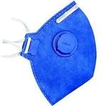 Máscara Pff2 P2 Tipo N95 proteção Bactéria Gripe H1n1 Coronavírus com Válvula