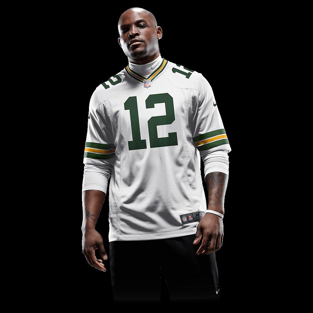 Camisa Futebol Americano Nike Green Bay Packers Masculina (Aaron Ro...