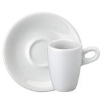 Xícara de Café Sofia Alta com Pires de Porcelana 70 ml Schmidt
