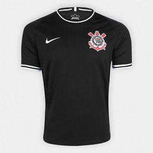 Camisa Corinthians II 19/20 s/nº Torcedor Nike Masculina