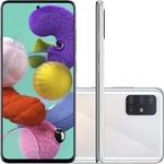 Smartphone Samsung Galaxy A51 - Branco