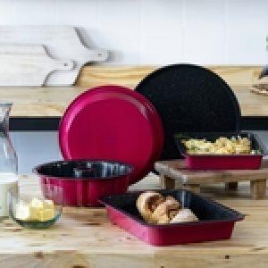 Conjunto de Assadeiras Pomodoro 5 peças - La Cuisine