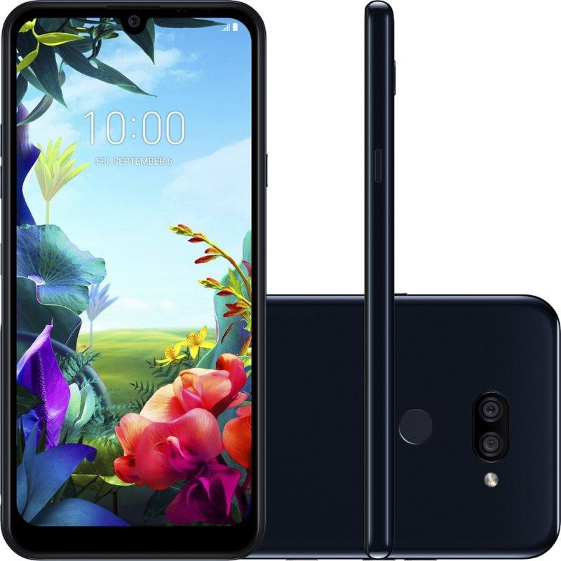 Smartphone Lg K40s Preto 32gb 3gb De Ram Tela De 6,1