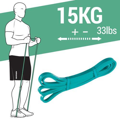 Super Band 15kg Elástico para Exercício Funcional e Alongamento - ELÁSTICO