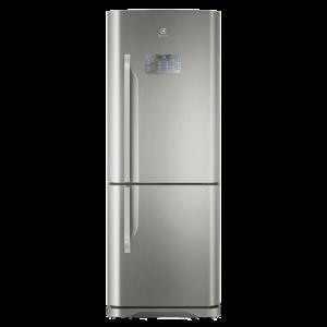 Geladeira/Refrigerador Frost Free Inox 454L  Bottom Freezer Electrolux (DB53X)