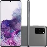 Smartphone Samsung Galaxy S20+ 128GB 4G Wi-Fi Tela 6.7'' Dual Chip 8GB RAM Câmera Quádrupla + Selfie 10MP - Cosmic Gray