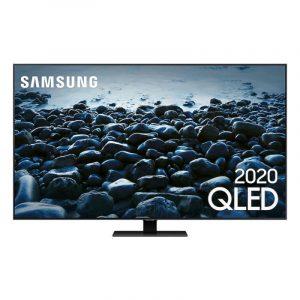 "Smart Tv Samsung Q80t 65"" Qled 4k Borda Ultrafina Modo Ambiente 3.0 P"