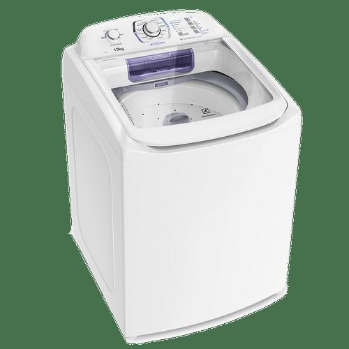 Máquina de Lavar 13kg Electrolux Turbo Economia, Silenciosa com Jet&Clean e Filtro Fiapos (LAC13)