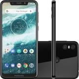 Smartphone Motorola One 64GB Dual Chip Android Oreo 8.1 Tela 5.9″ 2.0 GHz Octa-Core Qualcomm 4G Câmera 13 + 2MP (Dual Traseira)