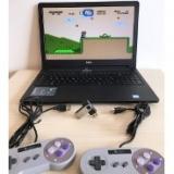 Super Nintendo Portátil com 2 controles e 1300 jogos