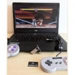 Super Nintendo Portátil com 1 controle e 1300 jogos