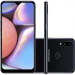 Smartphone Samsung Galaxy A10s 32GB 6.2″ 2GB RAM Câmera Traseira Dupla 13MP 2MP Preto